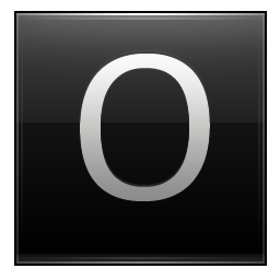 15 Black Letter Icon Images