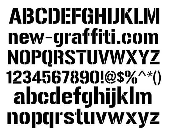 Stencils Font Free Seroton Ponderresearch Co