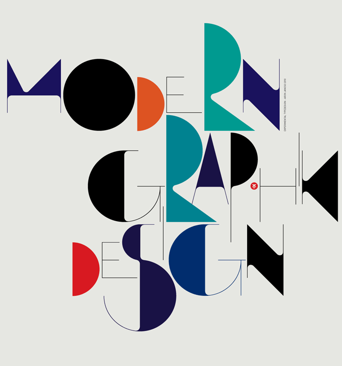 Modern Graphic Design Typography