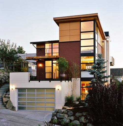 7 Modern Minimalist House Design Images