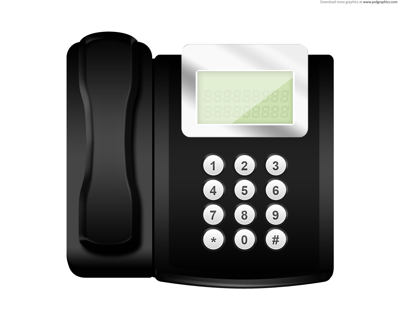 Modern Telephone Icon
