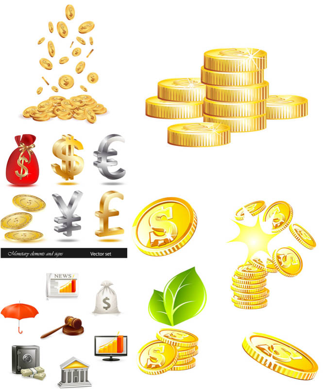 Money Vector Clip Art