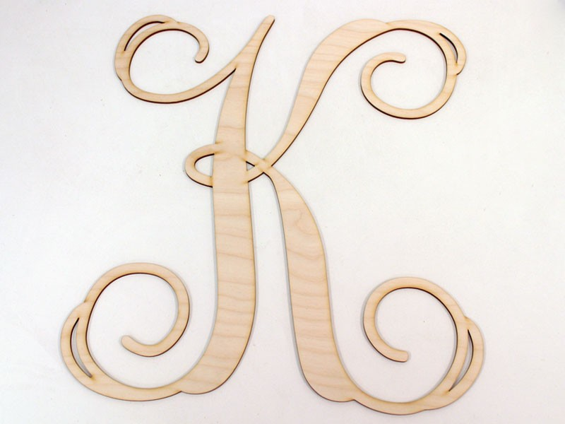 Monogram Wooden Letters Wholesale