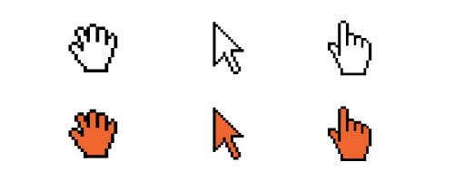 Mouse Cursor Icon Vector