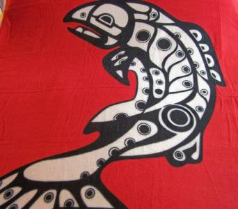 Native American Design Fleece Blankets