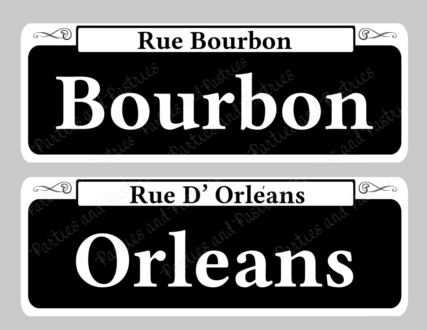 8 street sign font images new orleans street sign template road