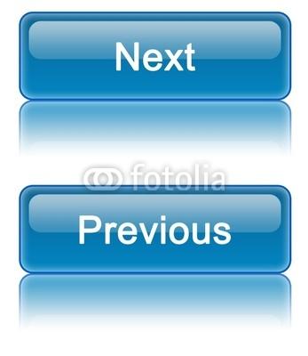 next previous button blue