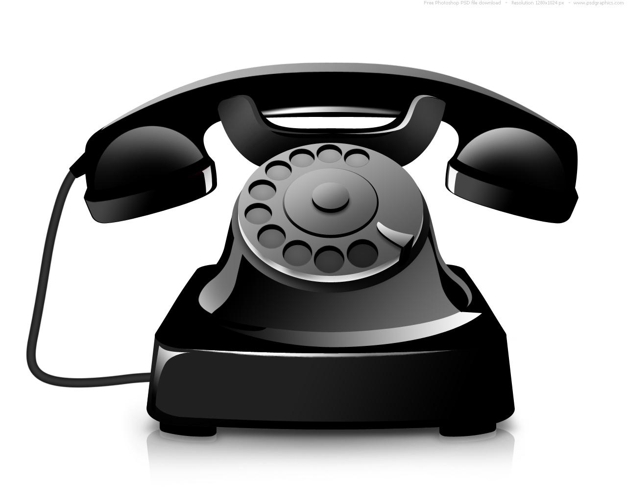 Old Telephone Phone Icon