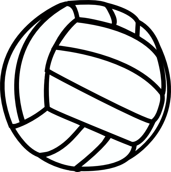 15 Free Vector Graphics Volleyball Images