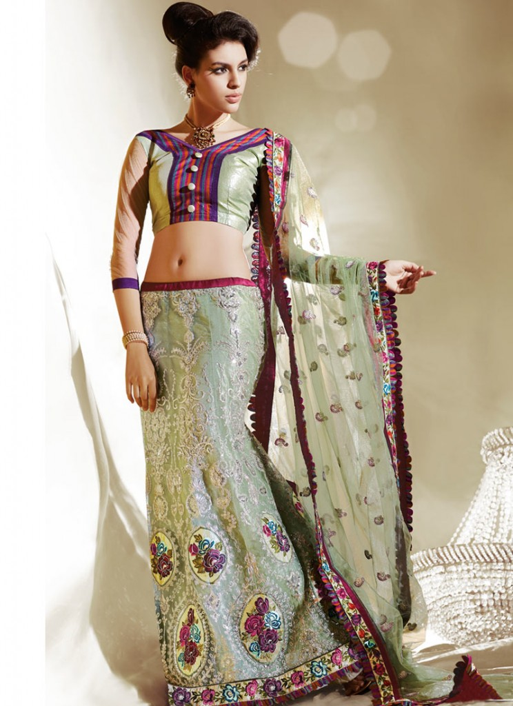 Pakistani Lehenga Designs Simple