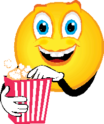 5 Eating Popcorn Emoticon Images