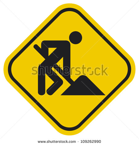 6 Road Construction Icon Images