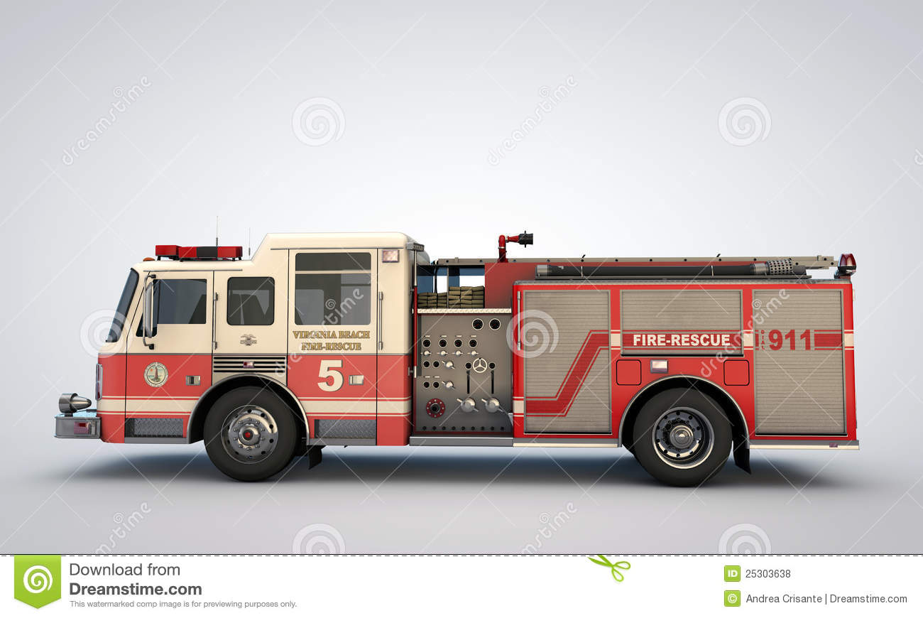 Royalty Free Fire Truck Pictures