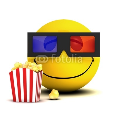 5 Eating Popcorn Emoticon Images - Popcorn Eating Smiley ...