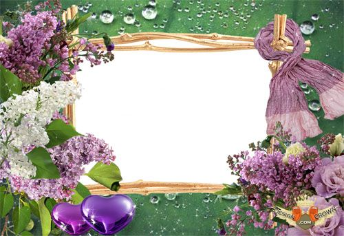 Spring Flowers and Mother's Day Frames