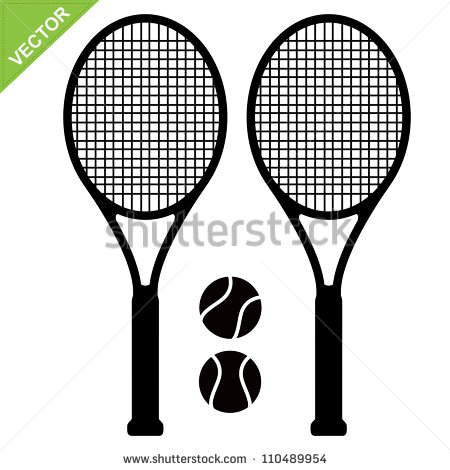 10 Tennis Racket Vector Images