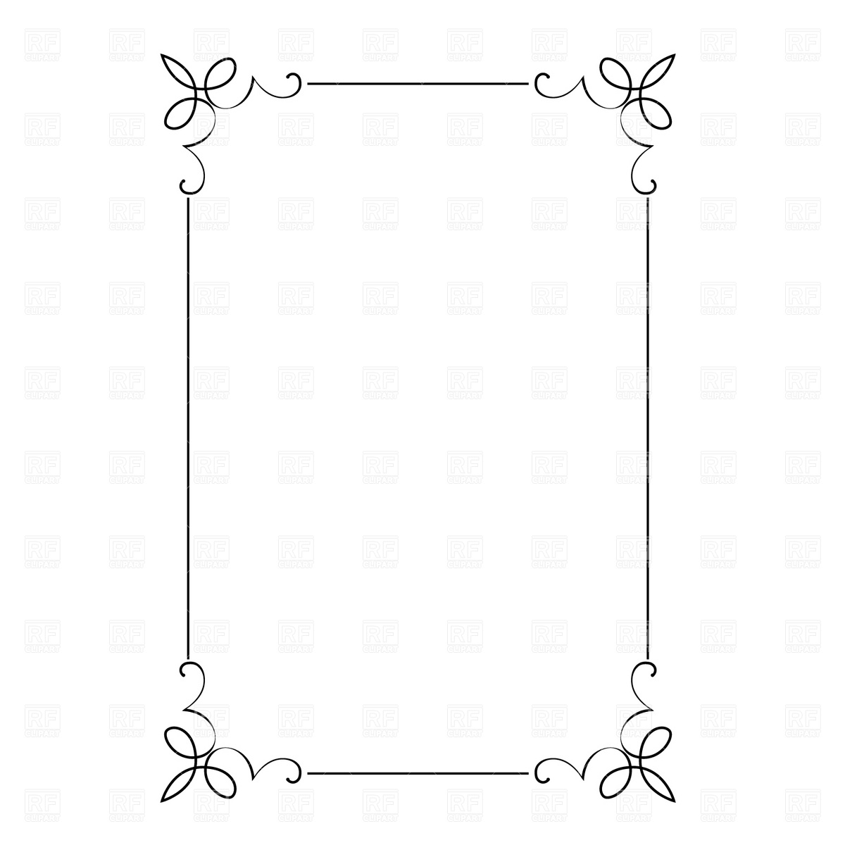 14 Free Vector Decorative Frame Borders Images