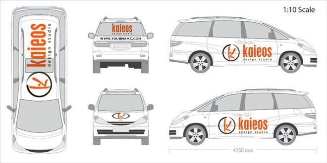 10 Car Wrap Design Templates Images Vehicle