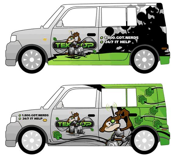 10 Car Wrap Design Templates Images Vehicle Wrap Design