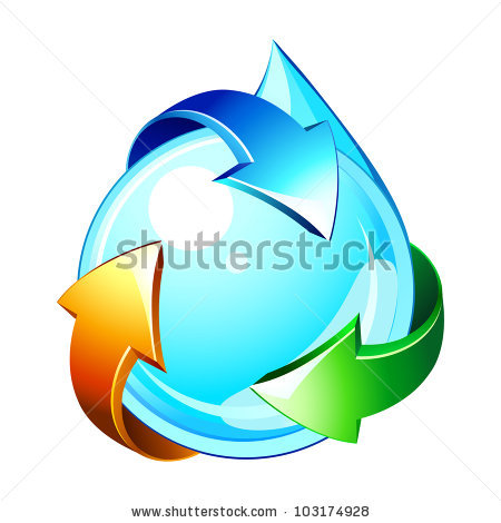 6 Water Cycle Icon Images