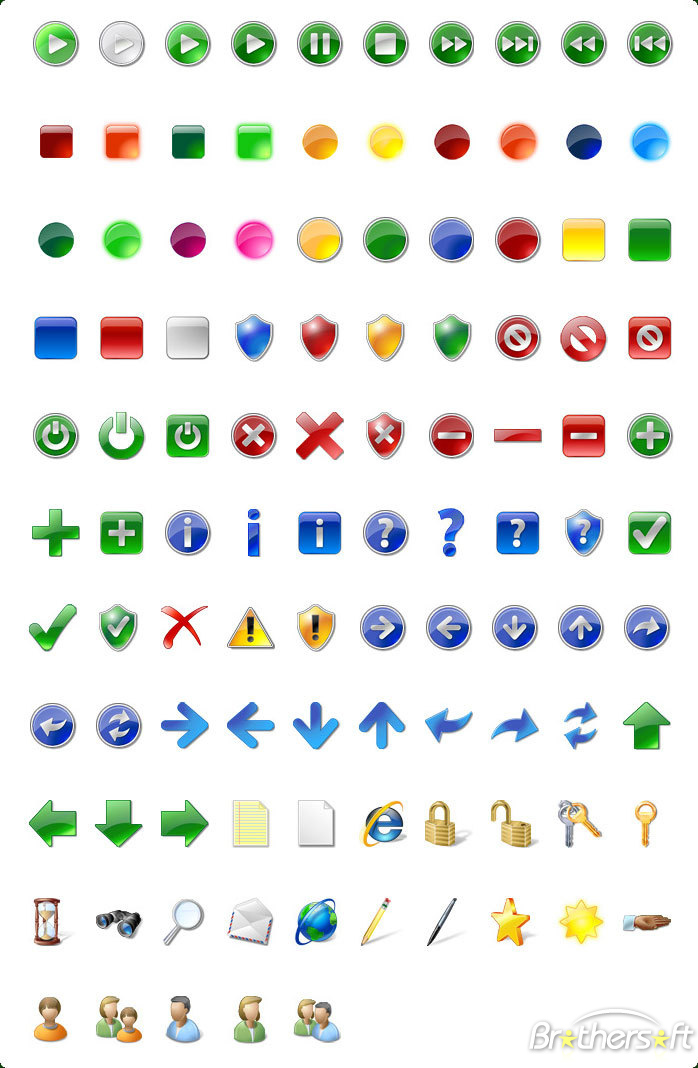 8 Style Icons For XP Vista Images