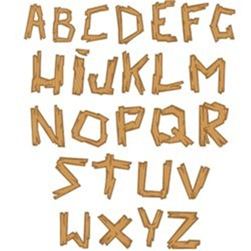 Wood Embroidery Fonts Free