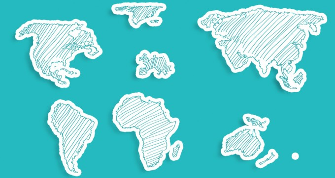 World Map Vector Art