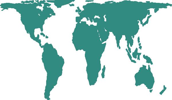 World Map Vector Clip Art