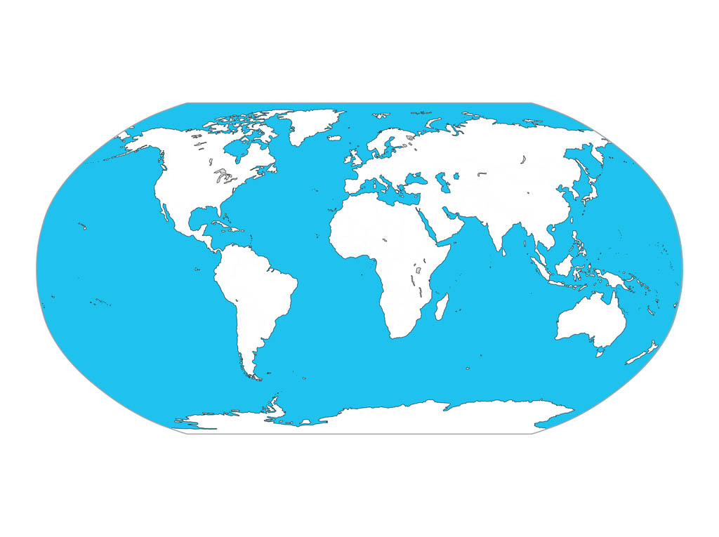 World Map Vector Graphic Free