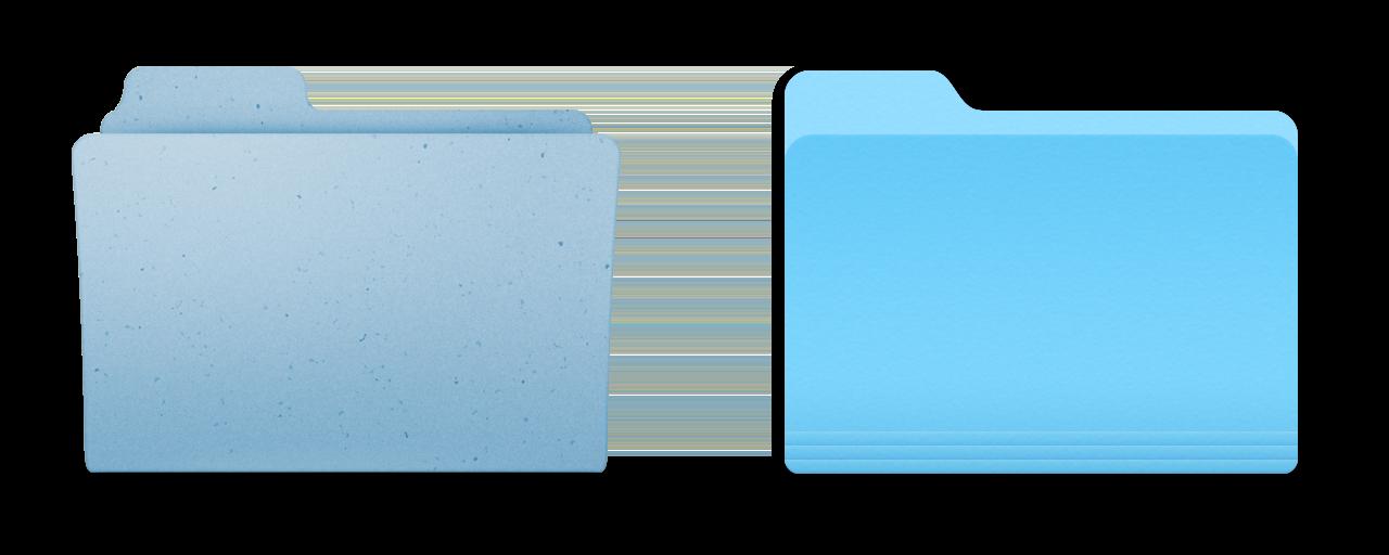 Mac Folder Vector