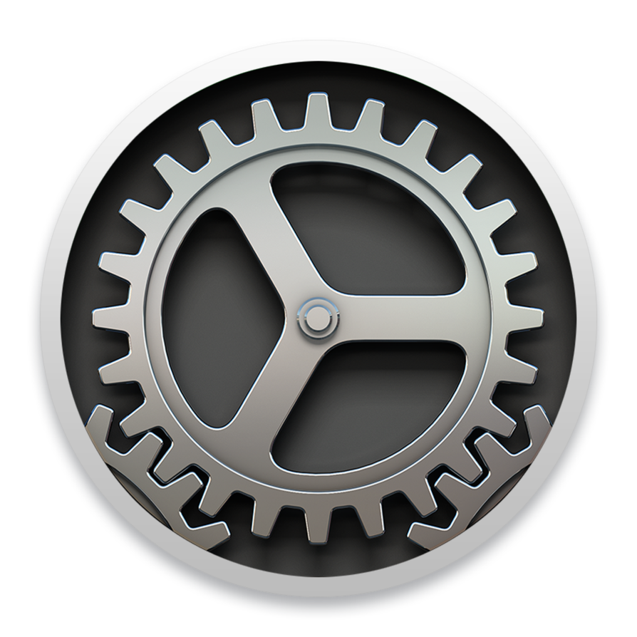 Yosemite Icon System Preferences