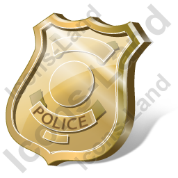 16X16 Icons Police Badges