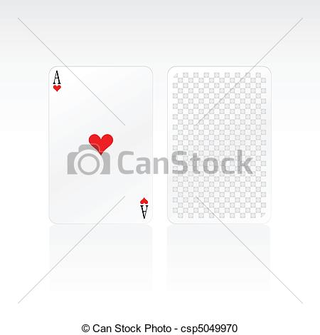 Ace Card Clip Art