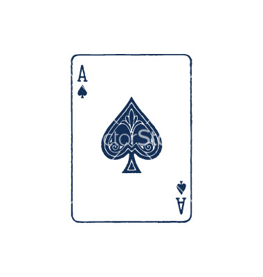 16 Ace Card Vector Images