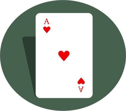 Ace of Hearts Clip Art