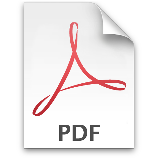 13 Application PDF Icon Images