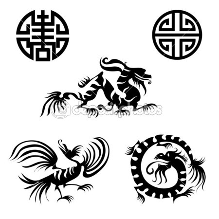 Ancient Chinese Dragon Designs