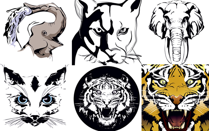 Animal Print Vector Free Download
