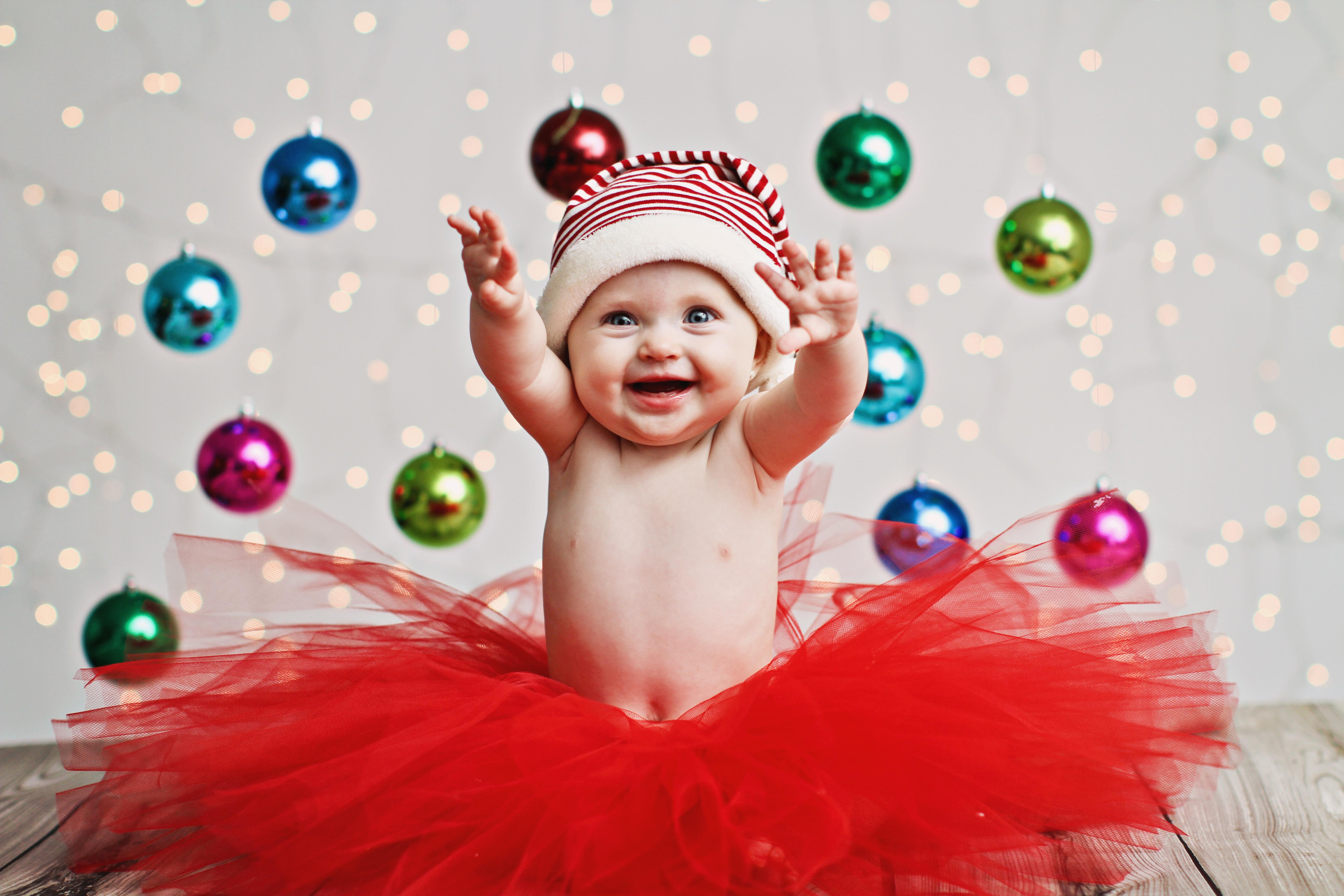 Baby Christmas Photo Shoot