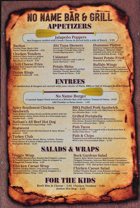 17 Bar Grill Menu Design Images