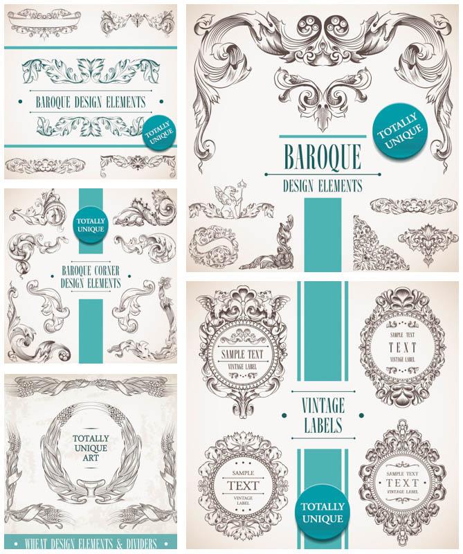 Baroque Decorative Elements