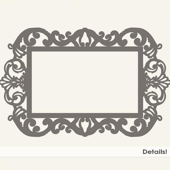 Baroque Frame Clip Art
