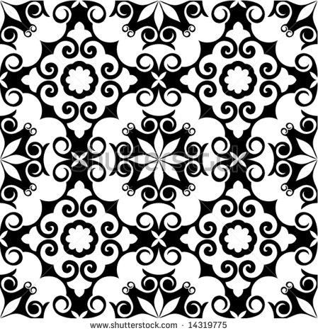 Baroque Vector Patterns