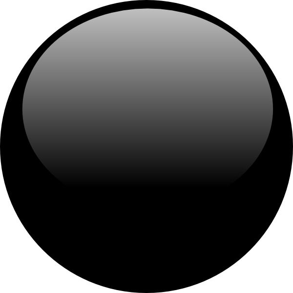 Black Glossy Icon Buttons
