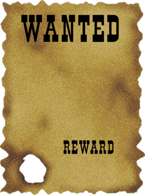 11 Blank Wanted Poster PSD Images