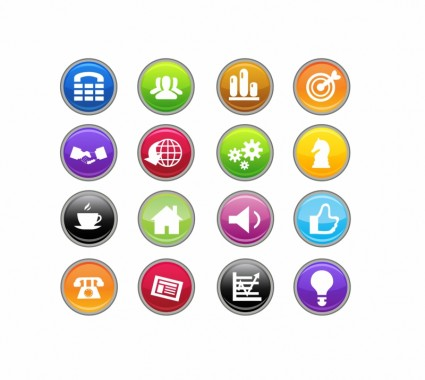 19 Business Icons Clip Art Images