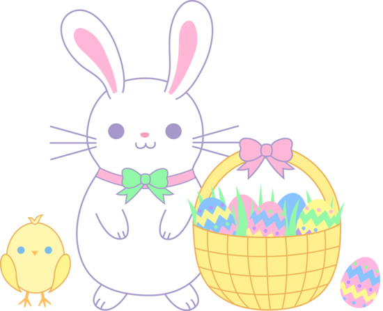 Chick Clip Art Easter Bunnies