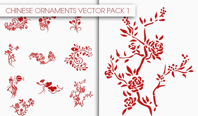 Chinese Vector Ornaments
