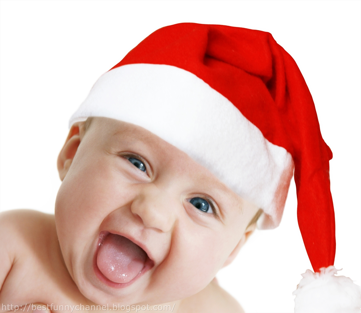 Christmas Funny Babies Laughing