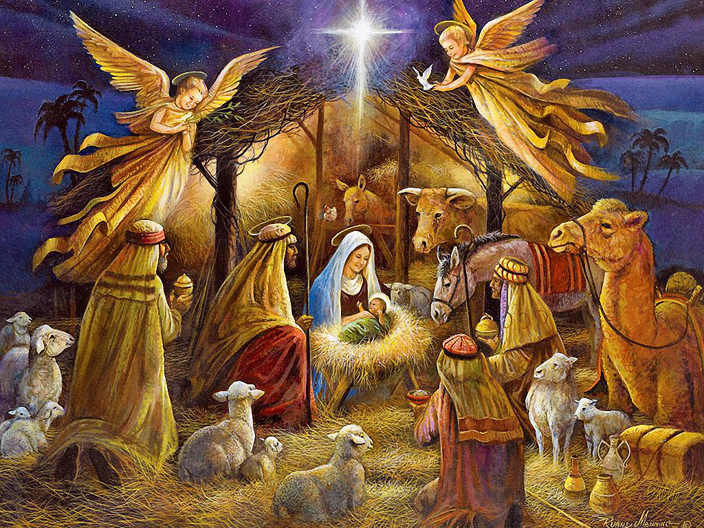 11 Free Christmas Graphics And Nativity Images